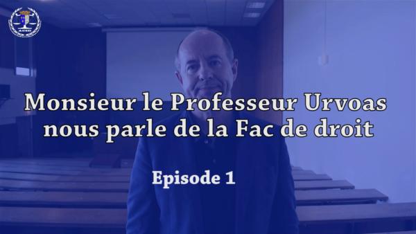 UBO – Des rencontres avec les acteurs de la faculté en vidéo.